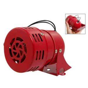 Alarma de Bocina de Sirena Impulsada por Motor de Metal Rojo de AC 220V
