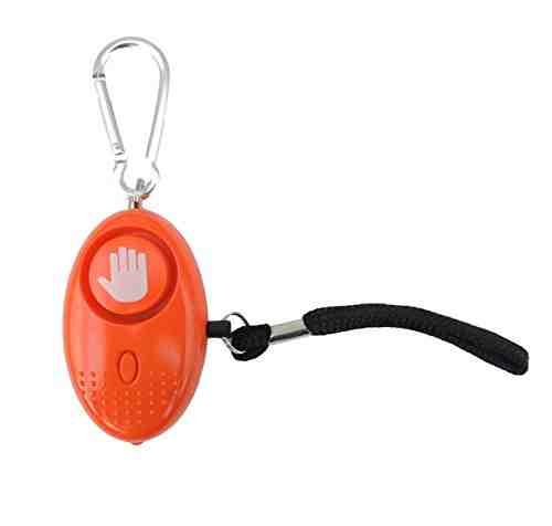 Alarma Personal - 130dB Alarma de Pánico con la protección de antorcha - Seguridad contra violaciones - Defensa Personal