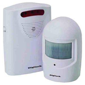 Digiteck A9 - Alarma de seguridad para exterior (inalámbrica e impermeable)