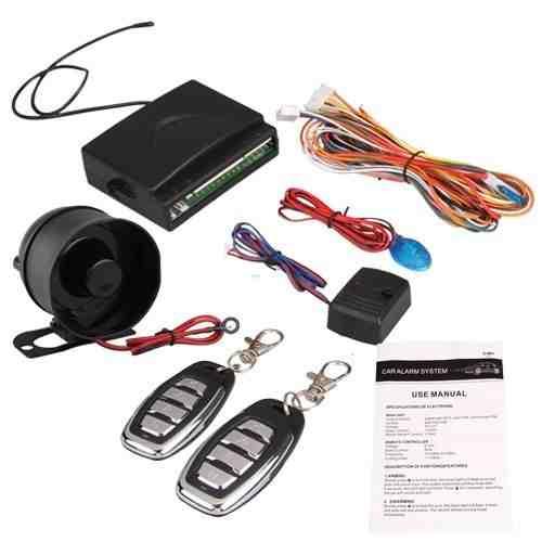 TOOGOO(R) Alarma del coche sirena de alarma de seguridad universal