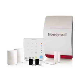 Honeywell HS331S - Alarma inalámbrica doméstica con control inteligente - blanco