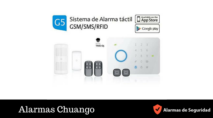 Alarmas Chuango