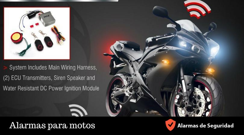 Alarmas para motos