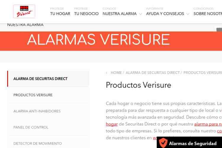 Empresa Alarmas Verisure