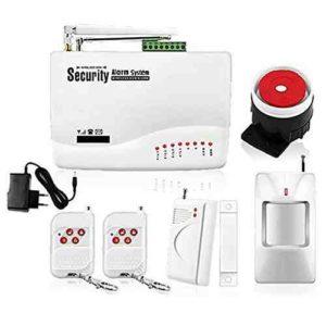 Tenflyer Alarma Sistema inalámbrico dual GSM Antena Inicio de seguridad inalámbrica de señales Sistemas de Alarma