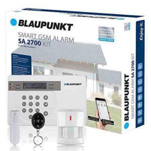 Kit Alarma de Seguridad Blaupunkt SA 2700. SIN Cuotas Mensuales, fácil de instalar, alarma para tu hogar o negocio. Controla tu alarma desde tu Smartphone con la App Gratuita Connect2Home de Blaupunkt