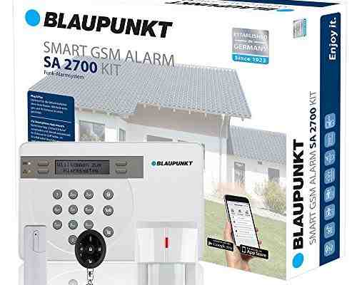 Kit Blaupunkt – SA 2700 transmisión via GSM 100% analámbrica, App