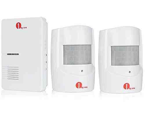 1byone Alarma de seguridad, Sensor de movimiento inalámbrico